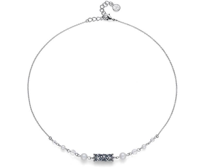 Oliver Weber Colier de lux cu tuburi de cristale 11936