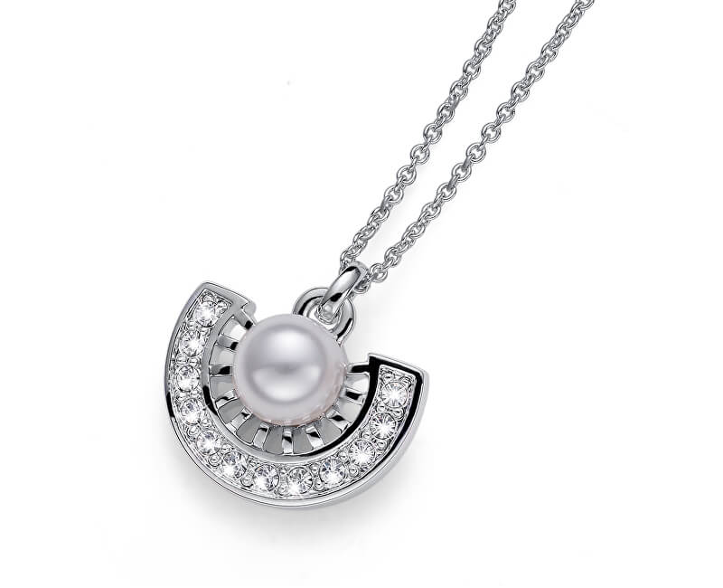 Oliver Weber Colier de cristal și Cleo 11955 perla