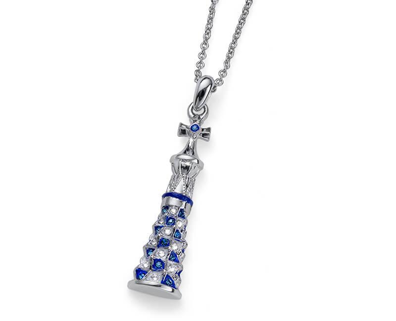 Oliver Weber Colier de cristal Torre Gaudi 11996