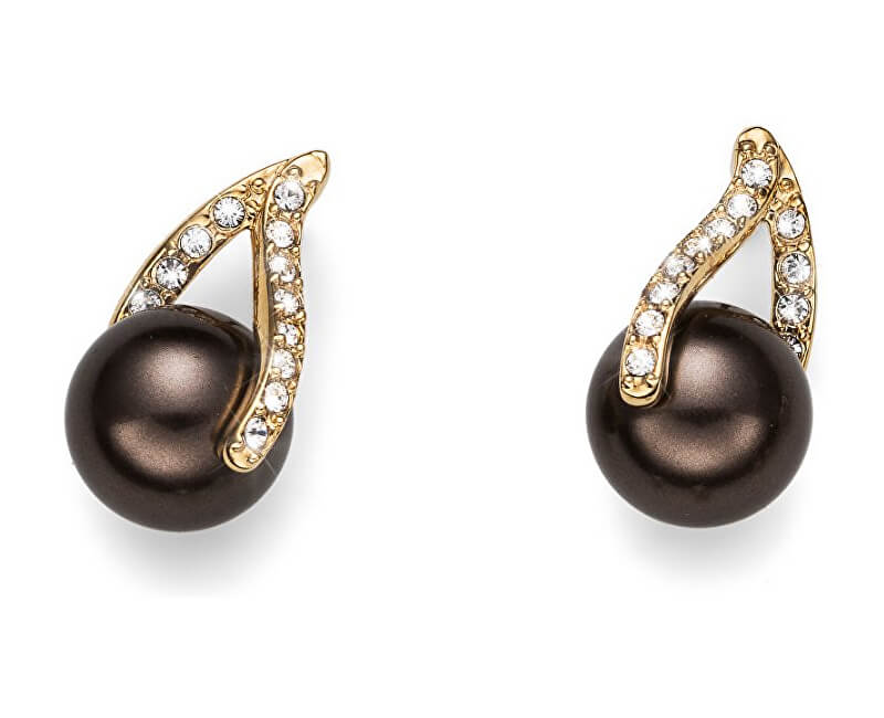 30520b540 Oliver Weber Náušnice s perlami a krystaly Working Wait 22591G ...