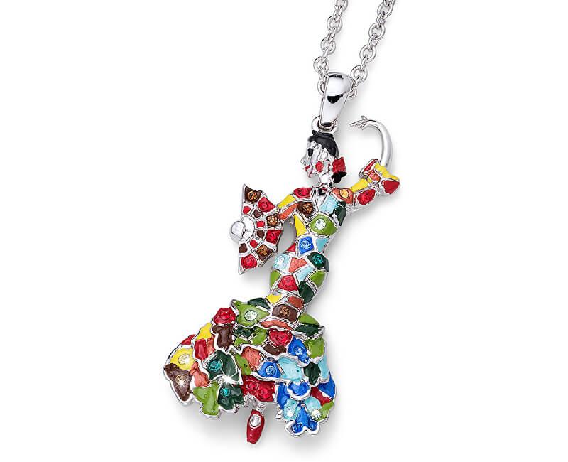 Oliver Weber Pestrobarevný náhrdelník Tanečnice Ocean Sevilla 11723