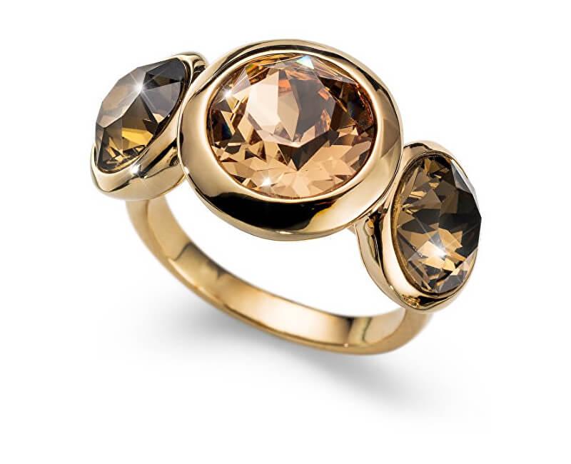 Oliver Weber Inel placat cu aur, cu cristaleWorking Every 41130 246