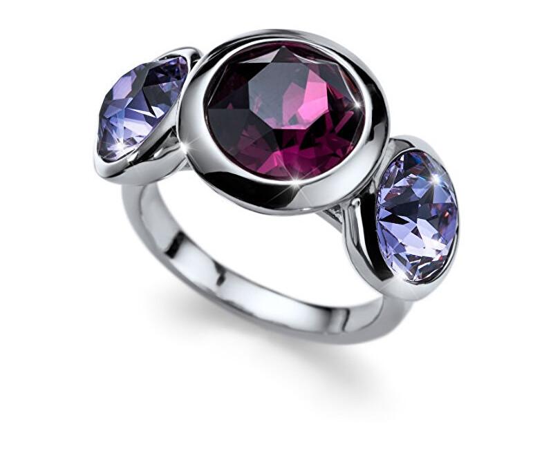 Oliver Weber Inel cu cristal violet care lucrează la fiecare 41129 204
