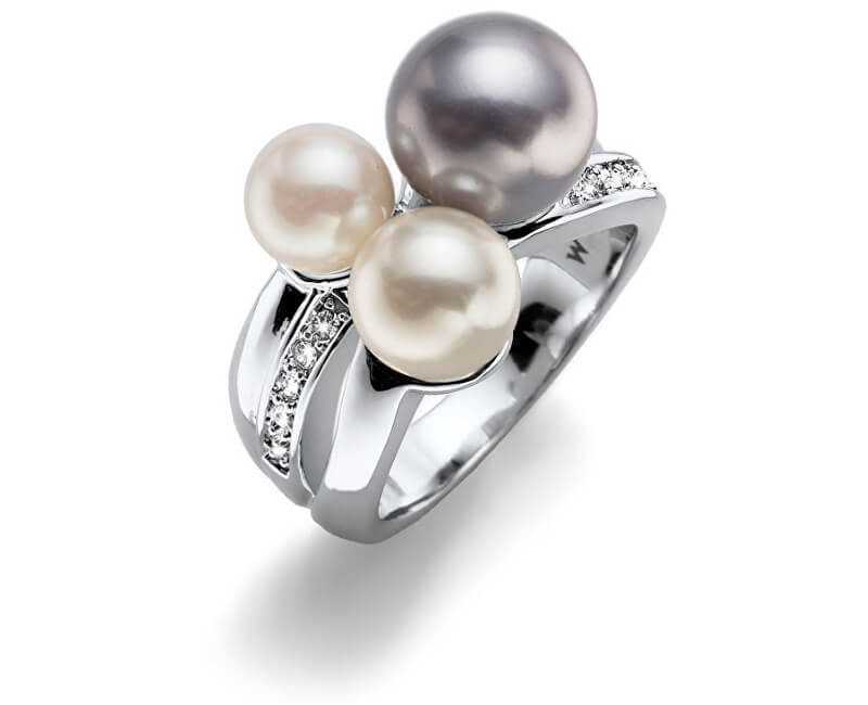 Oliver Weber Inel cu perleWorking Basic Pearl 41126