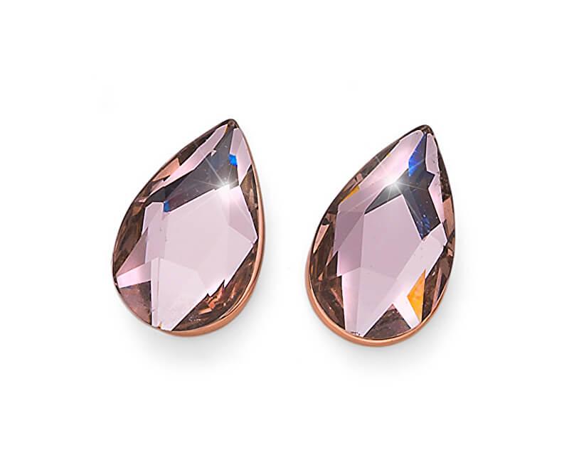 Oliver Weber Cercei aurit cu cristal Goccina 22796RG 319