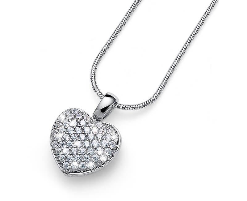 Oliver Weber Colier de argint cu cristale True Love 61147