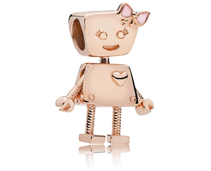 Pandora Bronzový přívěsek Robotka Bella 787141EN160