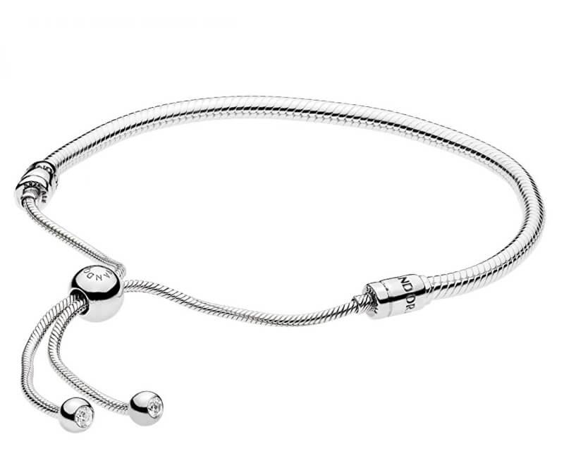 6d8572c08 Pandora Elegantný strieborný náramok 597125CZ-2 | Vivantis.sk - Od ...