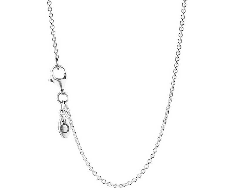 Pandora Jemný stříbrný řetízek 590412-45