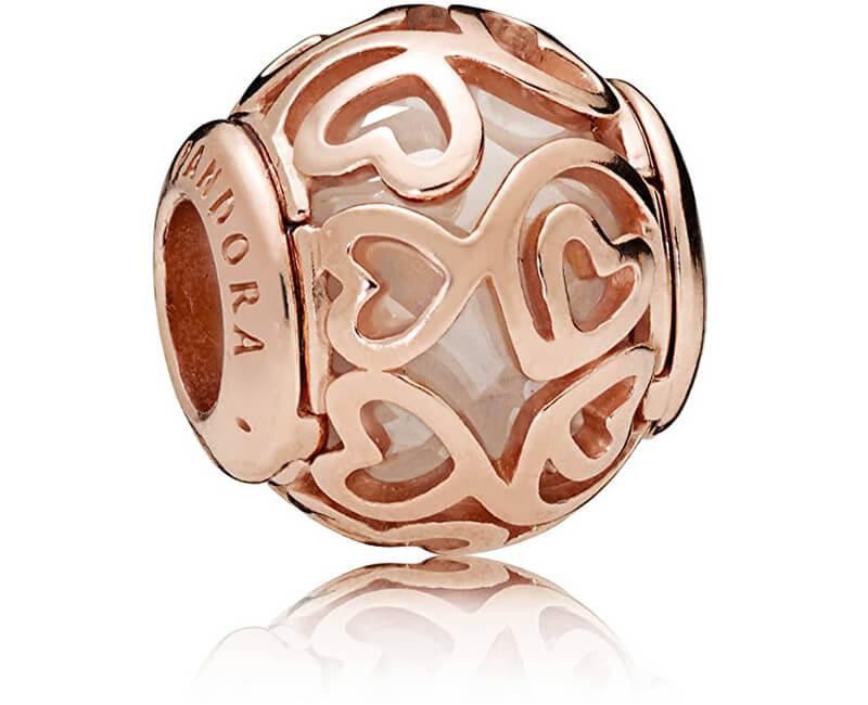 Pandora Luxusní bronzový korálek 787348CZ