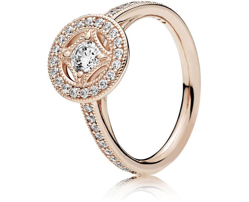 Pandora Luxusní bronzový prsten s kamínky 181006CZ Doprava ZDARMA ... 92ccfc2cc41