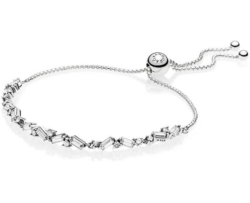 Pandora Luxusní třpytivý náramek ze stříbra 597558CZ