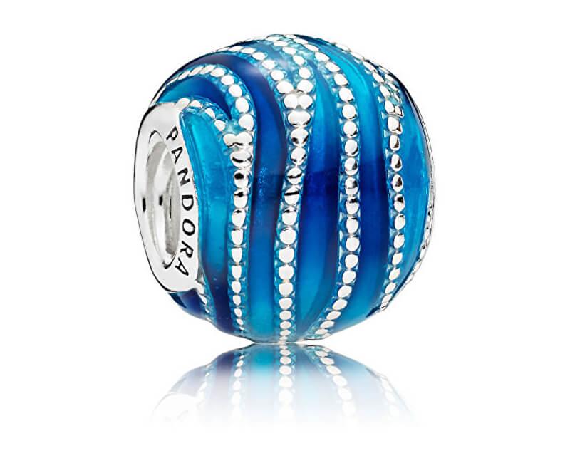 Pandora Překrásný modrý korálek 797012ENMX