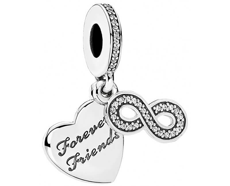 Pandora Přívěsek Forever Friends 791948CZ Doprava ZDARMA  408362307d6