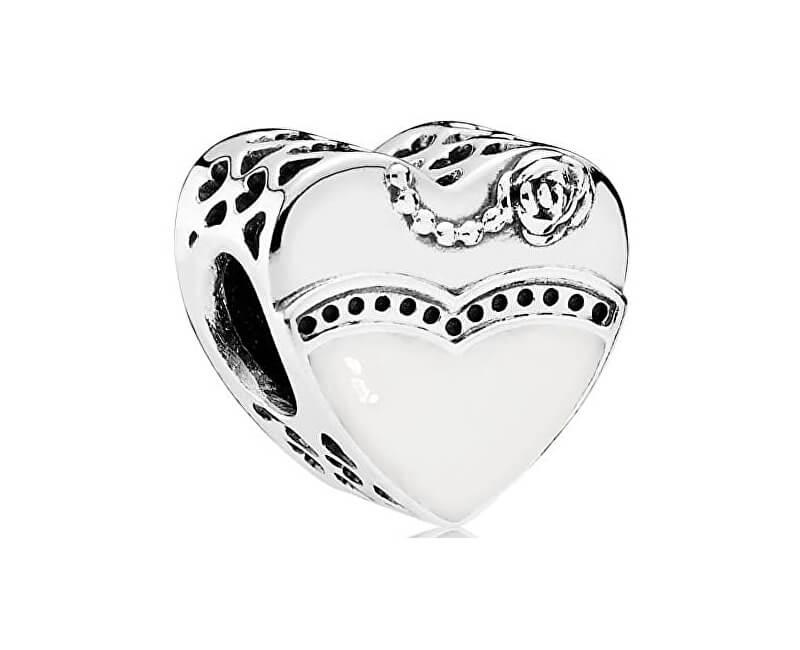Pandora Romantický korálek Nevěsta 791840ENMX