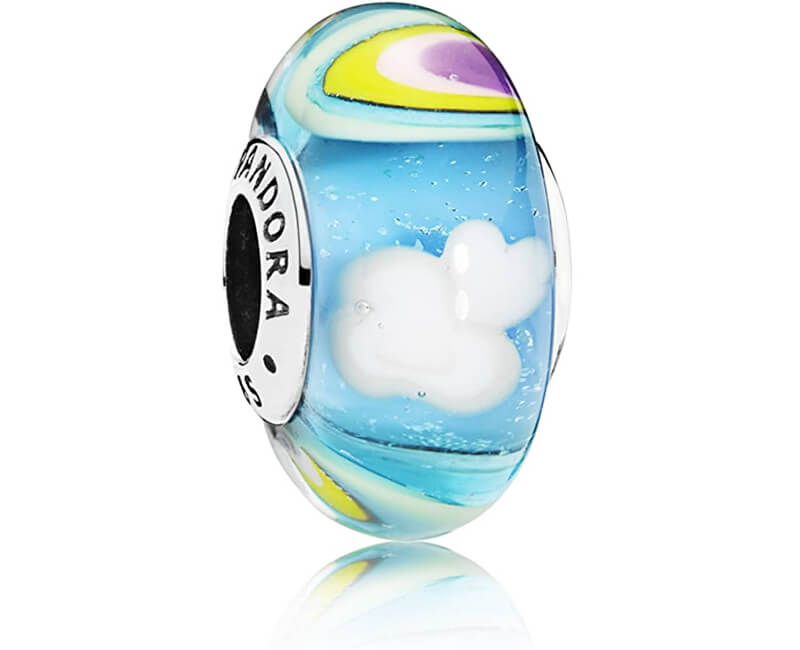Pandora Skleněný korálek Duha 797013