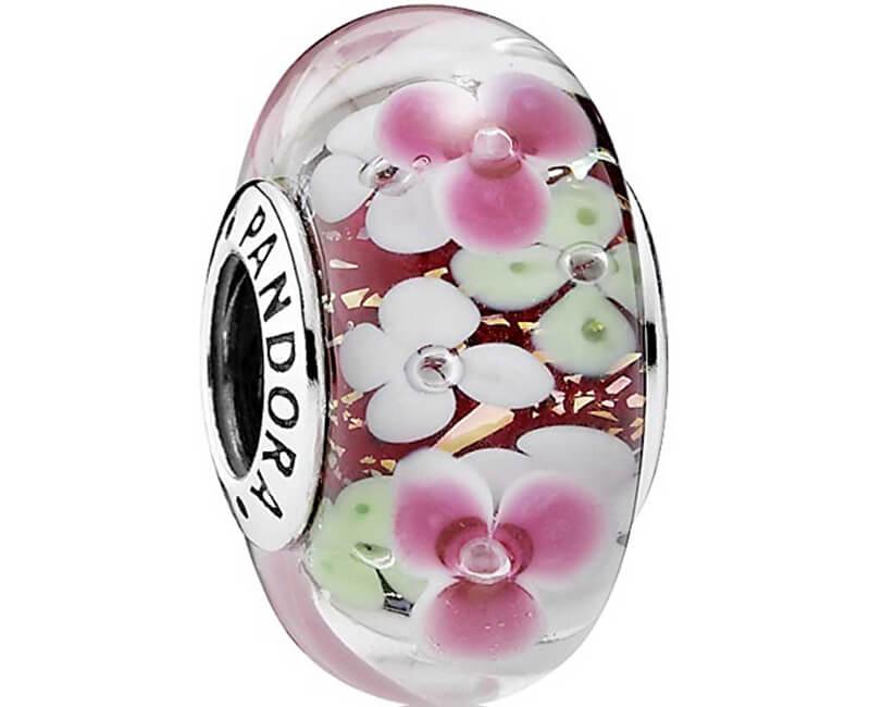 Pandora Floral șirag de mărgele de sticlă 791652