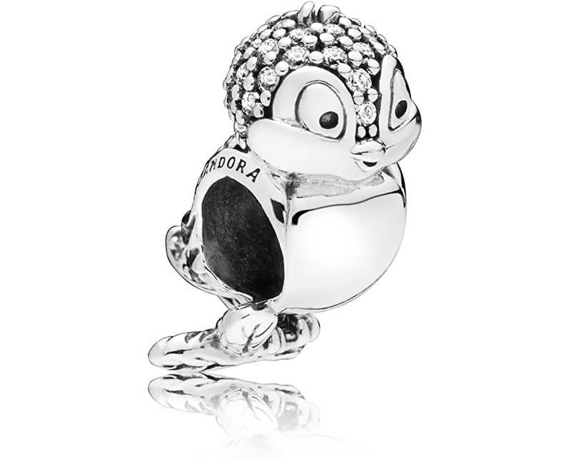 Pandora Stříbrný klip Disney Sněhurčin ptáček 797166CZ