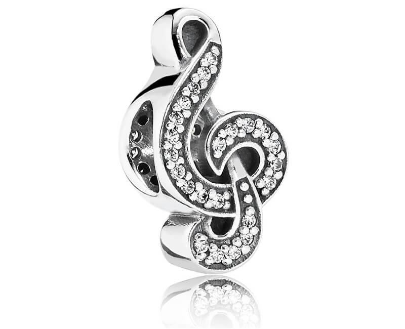 Pandora Stříbrný korálek Houslový klíč 791381CZ