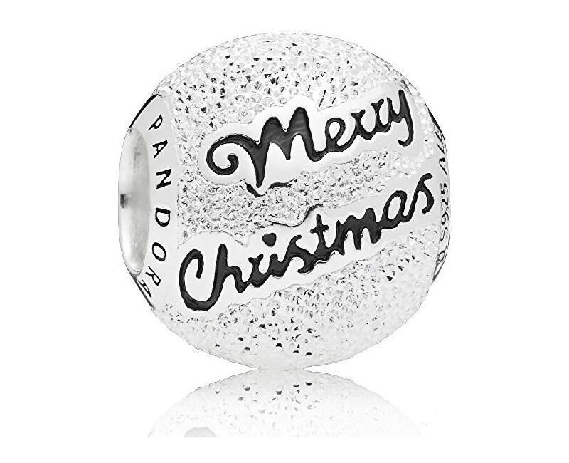 1ef200c30a8d Pandora Strieborný korálik Merry Christmas 797524EN16