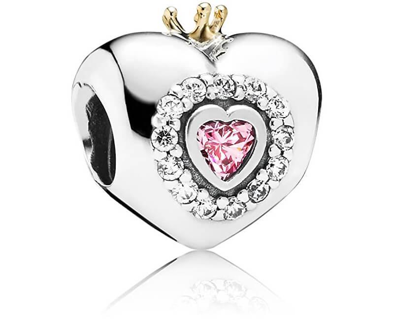 Pandora Stříbrný korálek pro princeznu 791375PCZ