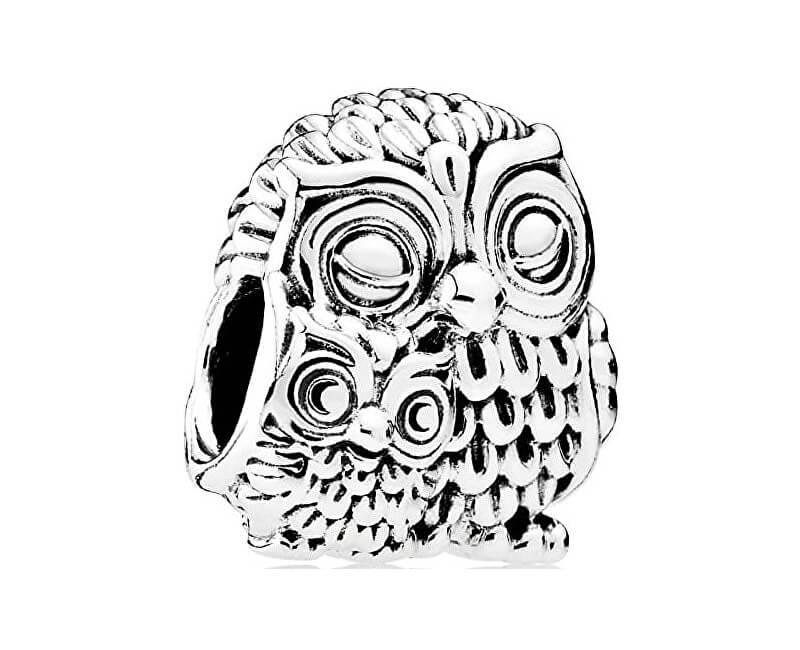 Pandora Argint șirag de mărgele de bufniță 791966