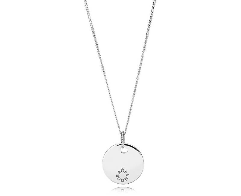 Pandora Stříbrný náhrdelník 397122-60 (řetízek, přívěsek)