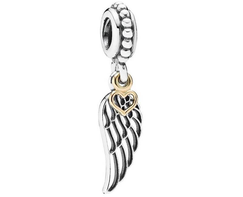 Pandora Stříbrný přívěsek Andělská láska 791389