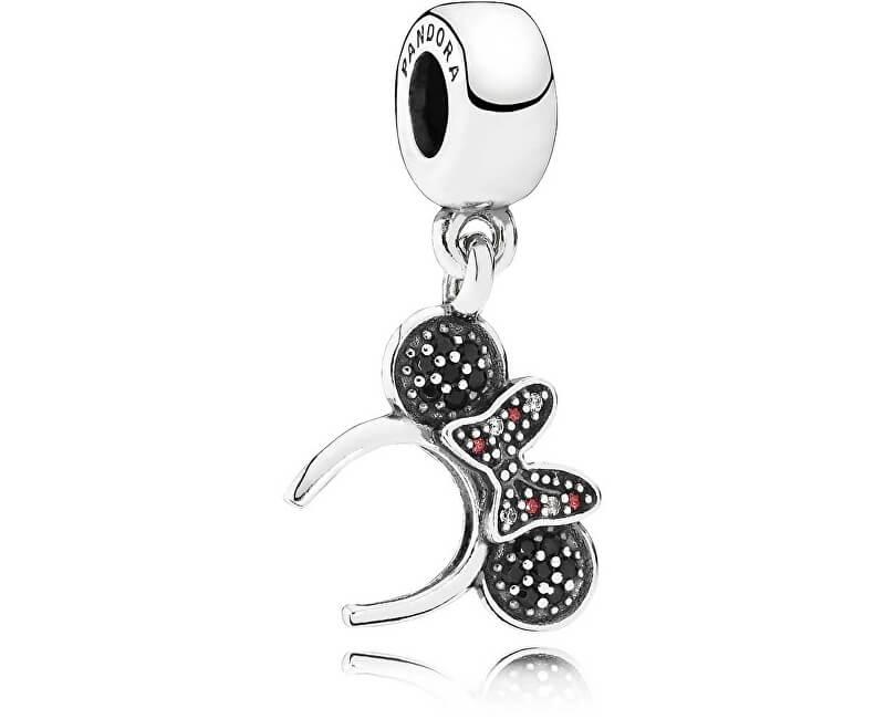 Pandora Stříbrný přívěsek Disney Minnie 791562NCK