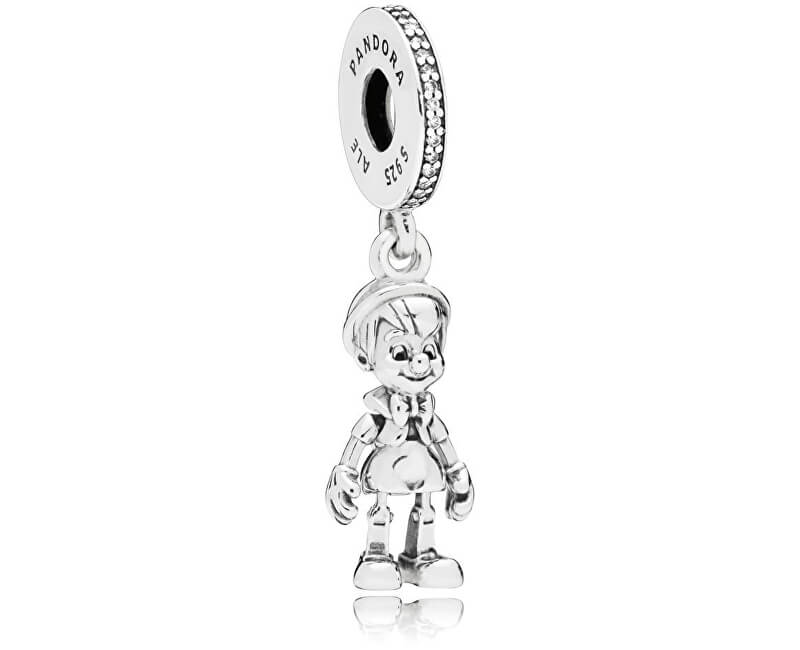 Pandora Stříbrný přívěsek Disney Pinocchio 797489CZ