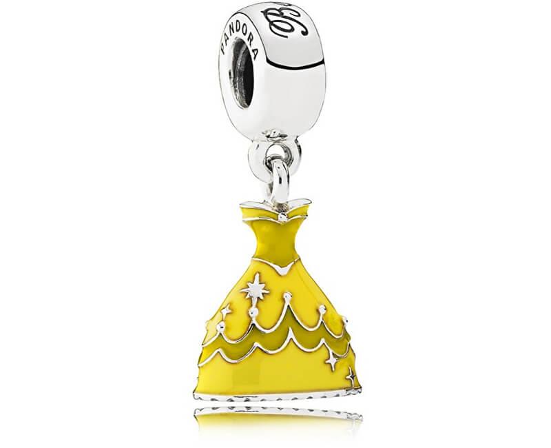 Pandora Strieborný prívesok Disney Šaty Belly 791576ENMX Doprava ... 94beabf67dc