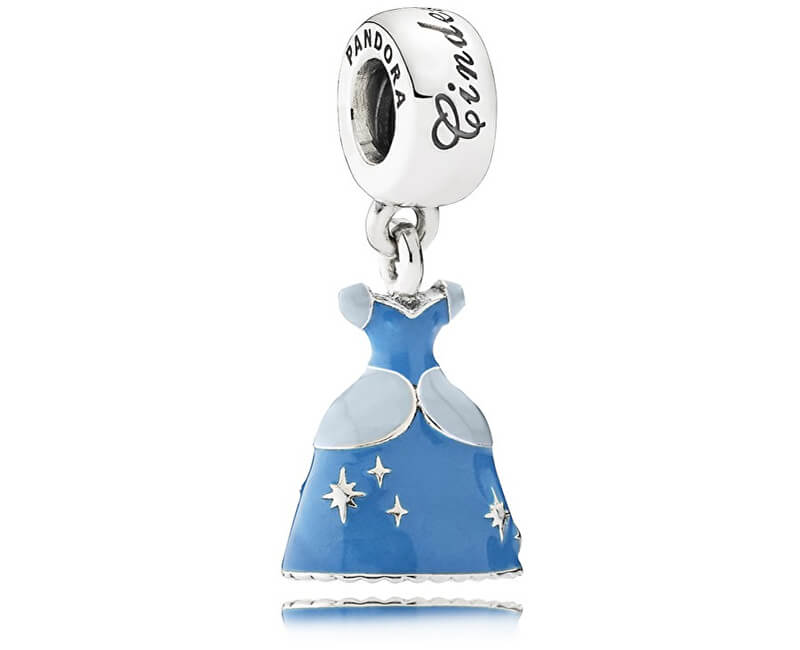 Pandora Stříbrný přívěsek Disney Šaty Popelky 791578ENMX Doprava ... a4e995657ff