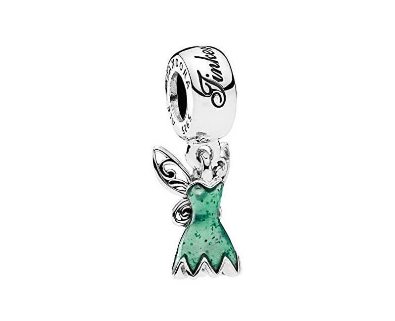 Pandora Stříbrný přívěsek Disney Šaty Víly Zvonilky 792138EN93 Novinka f0c2a16576d