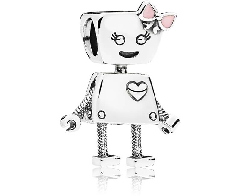 Pandora Strieborný prívesok Robotka Bella 797141EN160 Doprava ZDARMA ... 2ce12e87a42
