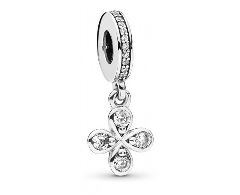 Pandora Pandantiv de argint cu flori 797969CZ