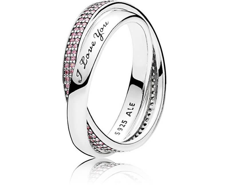 Pandora Stříbrný prsten pro milovanou ženu 196546PCZ