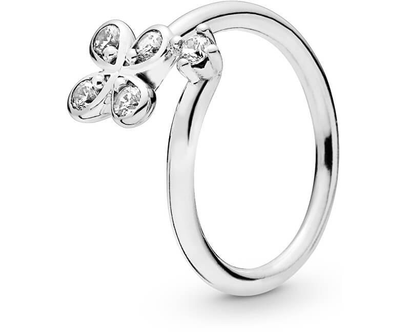 Pandora Inel de argint cu floare 197988