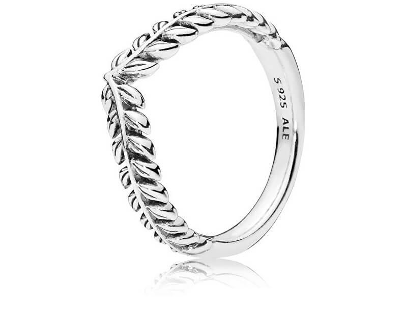 Pandora Stříbrný prsten s obilnými klasy 197681