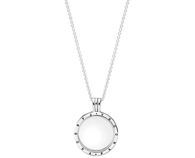 Pandora Štýlový náhrdelník s medailónom 590529-60 (retiazka ... b765977b652