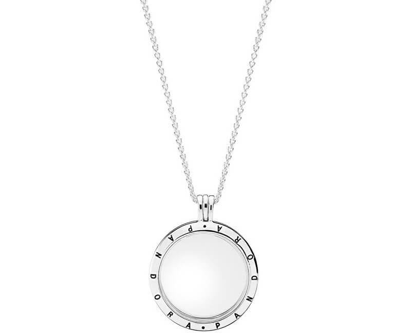 Pandora Stylový náhrdelník s medailonem 590530-75 (řetízek db783bd2b69
