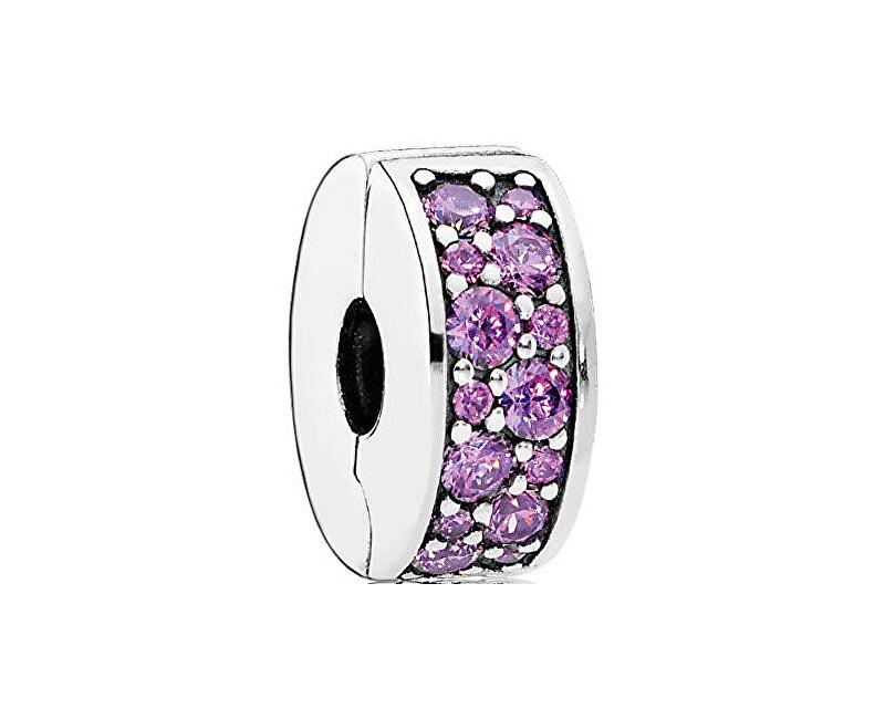 Pandora Clip violet 791817CFP strălucitoare