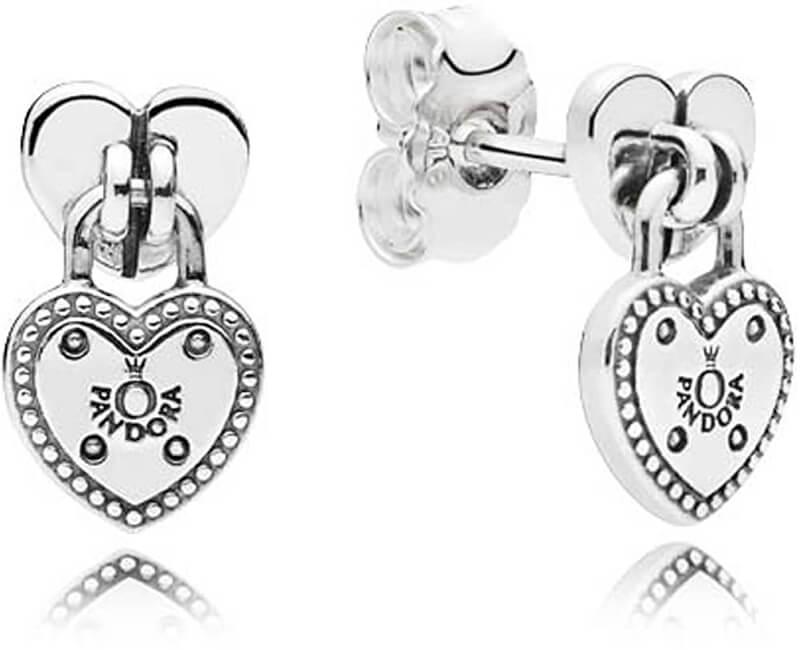Pandora Iubiți cercei de argint 296575