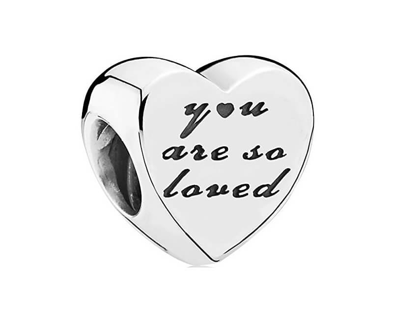 Pandora Zamilovaný stříbrný korálek 791730