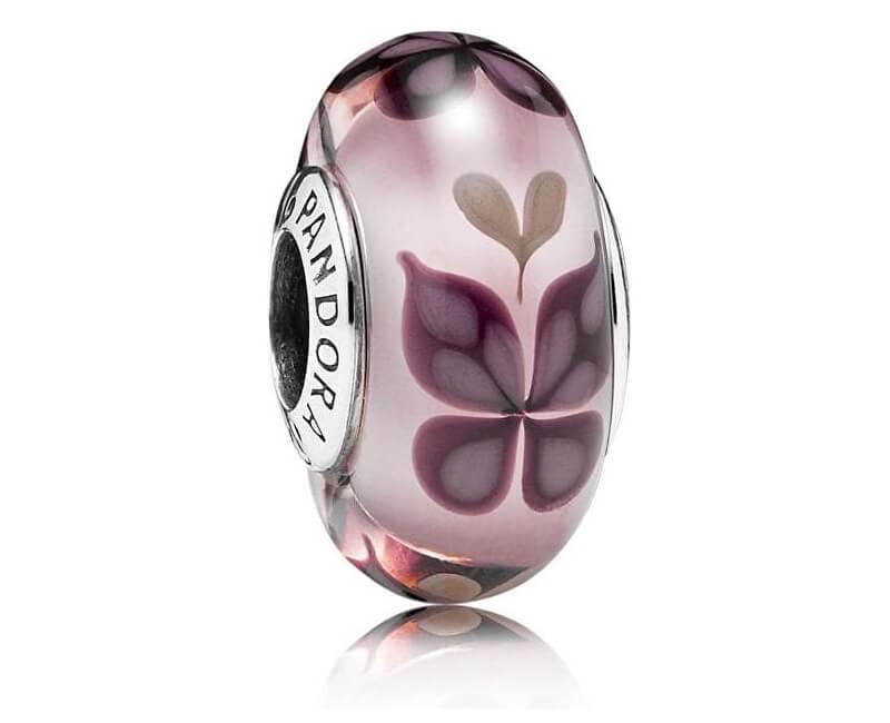 Pandora Růžový korálek Motýli 791621