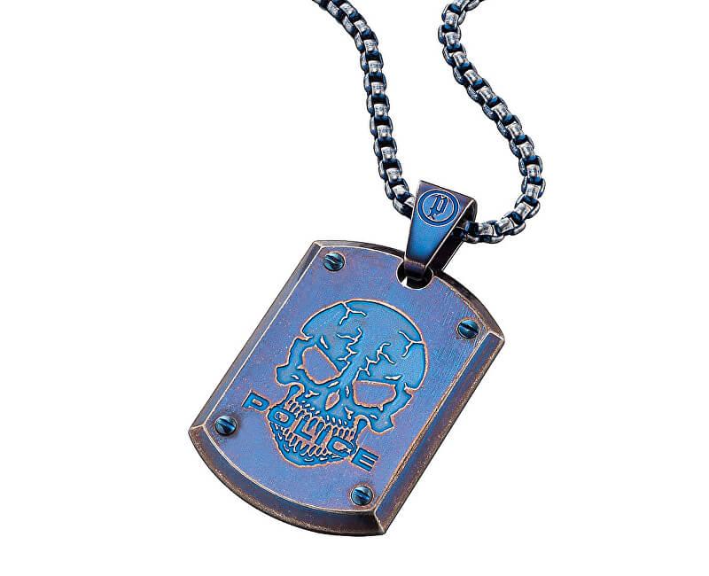 Police Colier albastruProwler PJ25607PSEBL-S pentru bărbați