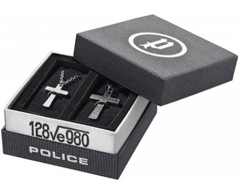 Police Set de coliere CruciCryptic PJ25694SET