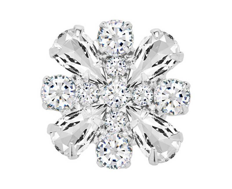 Preciosa Magnetická brož s čirými krystaly Freesia 2268 00