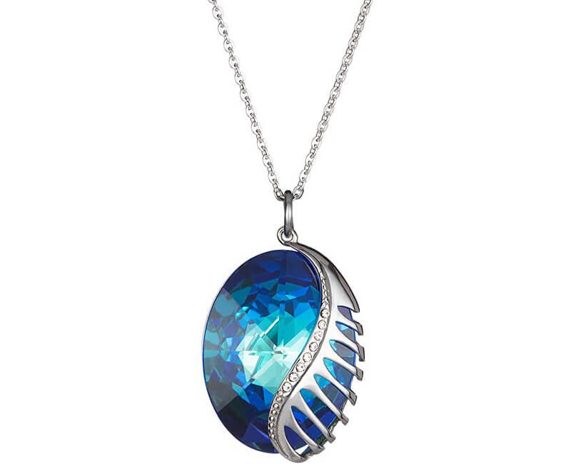 Preciosa Náhrdelník Fairy Tale Fantasy s krystalem Bermuda Blue 7222 46
