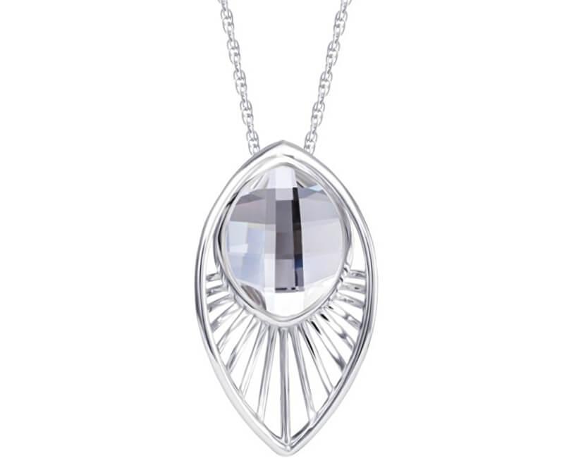 Preciosa Něžný náhrdelník Orchid 6093 00 (řetízek, přívěsek)