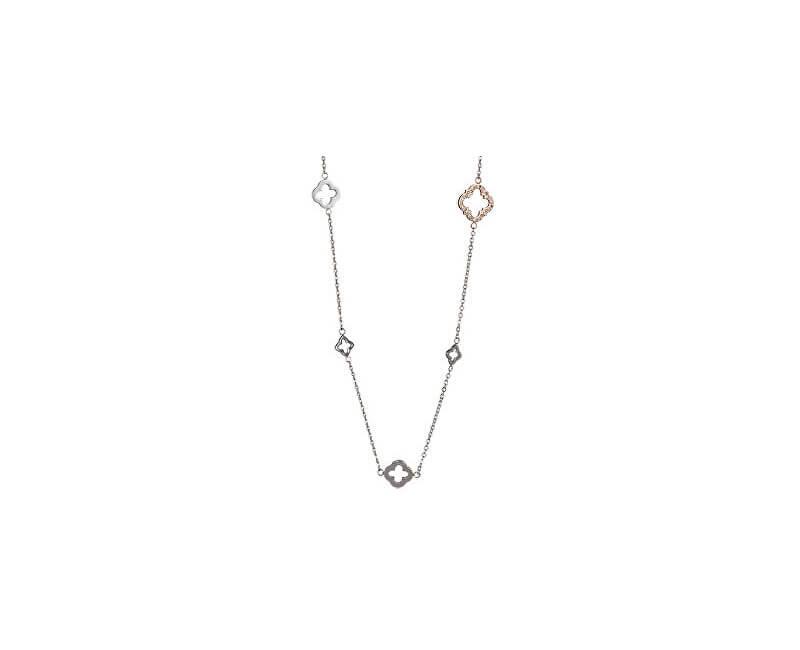 Preciosa Ocelový náhrdelník Grandeur s čirými krystaly 7242P00